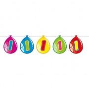 Geen 1 Jaar leeftijd versiering ballon slinger 10 meter