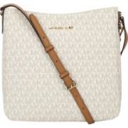 Michael Kors Women White Messenger Bag(Imported)