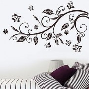 Walltola Wall Sticker- Slender Branch Bedroom Decor 6961 ( Finished Size 125cm x 100cm)