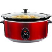 Oala electrica Slow cooker Andrew James AJ000239, Volum 6.5 Litri, Vas Ceramic
