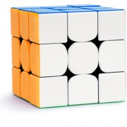 kiddie corner Magic Speed Rubik Cube 3x3x3 Sticker Less Water Proof