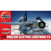 E E LIGHTNING F6 repülő makett Airfix A05042