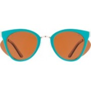 Slaughter & Fox Cat-eye Sunglasses(Brown)