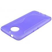 Wave Case for Motorola Moto G5S Plus - Motorola Soft Cover (Purple)