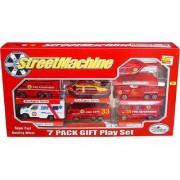 Jain Gift Gallery Street Machine Toys 7 Pack Gift Play Set