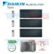 Daikin Climatizzatore Condizionatore Trial Split 3mxm40m Parete Inverter Bluevolution 700070007000 Btuh 777 Stylish Nero Ftxa20atftxa20atftxa20at3mxm40n R32 A A Wi Fi Incluso