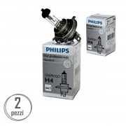 PHILIPS Kit Lampade H4 Vision Philips 12342Proqc1-2