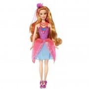 Papusa Sirena 2 in 1 Barbie si usa secreta Romy Mattel