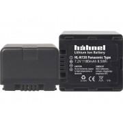 Hähnel Kamerabatteri Hähnel Ersättning originalbatteri VW-VBN130, VW-VBN130E, VW-VBN130K, VW-VBN260, VW-VBN260E, VW-VBN260K, VW-VBN390, VW-VBN390E, VW-VBN390K 7.2 V 1180 mAh HL-N130