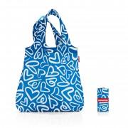 Чанта фънки сърца Reisenthel Mini Maxi Shopper