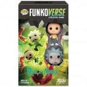Funkoverse Juego de Mesa Funko Pop! - Funkoverse: Rick y Morty - Pack Expansión
