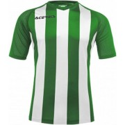 Acerbis Sports JOHAN STRIPED S/SL JERSEY (Sportshirt) GREEN/WHITE 3XS height JR: 156/165 .061 height JR: 133/144 .059