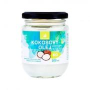 Allnature Premium Bio Coconut Oil kokosový olej pro kvalitní výživu a regeneraci 200 ml unisex