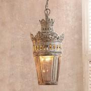 LOBERON Hanglamp Clove / antiekgrijs