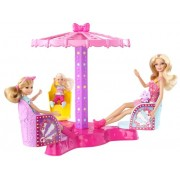 Barbie Sisters Twirl and Spin Ride Playset