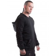 kapucnis pulóver férfi - Cratos o Ring - NECESSARY EVIL - NE0019A