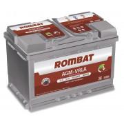 Rombat 12V 70Ah 720A L3 baterie auto AGM VRLA pentru Start Stop