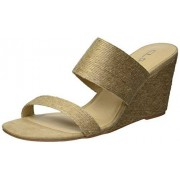CL by Chinese Laundry CL by Chinese Launch, Sandalia de cuña para Mujer, Natural, 6.5 US
