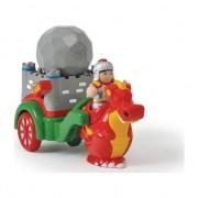 Jucărie pentru un copil / vehicul - Knight George și dragonul său