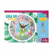 Puzzle cu ceas Noriel - Ora de joaca ,Animale