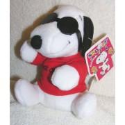 "Peanuts Plush 6"" Snoopy Joe Cool With Glasses Bean Bag Doll"