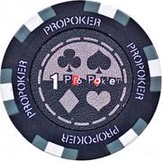 Kerámia póker zseton 1 pro-poker