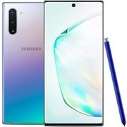 Samsung Galaxy Note 10 Factory Unlocked Cell Phone with 256GB (U.S. Warranty), Aura Glow (Silver) Note10 (Renewed)