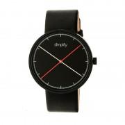 Simplify The 4100 Leather-Band Watch - Black SIM4101