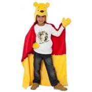 Disney deken met kap van Winnie The Pooh 100x100cm