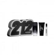 Carolina Herrera 212 Vip Black Eau De Toilette Spray 100ml Set 2 Parti 2019