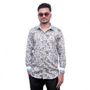 Tooley Men's Cotton Formal shirts/ party wear shirts /Full sleeve shirts/ Printed shirts Regular Fit Formal Shirt for Men