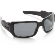 Swiss Design Round Sunglasses(Grey)