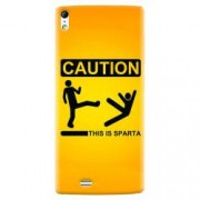 Husa silicon pentru Allview X2 Soul This Is Sparta Funny Illustration