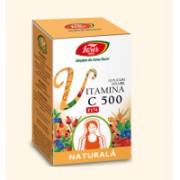 Vitamina c 500 naturala solubila 10plicuri FARES