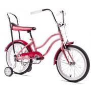 Bicicleta Pegas cu roti ajutatoare - Mezin , Roz