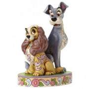 Disney Lady and The Tramp 60th Anniversary Figurine