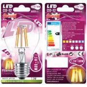 Sijalica LED Colossus CSS-X2, E27, 7,5W (60W) , 800 lm, toplo bela, FILAMENT