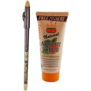 Combo of Eye and Lip Liner and Face Scrub