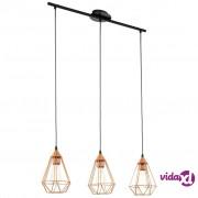 EGLO viseća svjetiljka Tarbes 79 cm boje bakra 94195