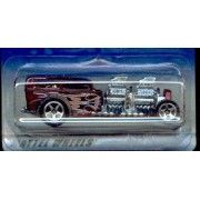 #2000-115 Burgandy WAY 2 FAST Virtual Collection Collectible Collector Car Mattel Hot Wheels 1:64 Scale