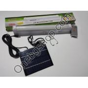 Мощна лед соларна лампа - пура за къмпинг с дистанционно управление Kingblaze GD-1036S