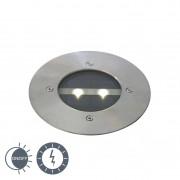 QAZQA Modern Mark-Spotlight Stål med Solernergi inkl. LED - Tiny
