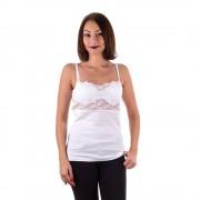 Filo Scozia női trikó széles fehér csipkével