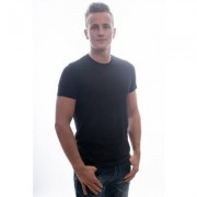 Garage T-Shirt Regular Fit O-Neck Black Two Pack ( art 0103)