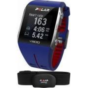 Smartband Polar V800 GPS Albastru-Rosu + Senzor HR Polar H7