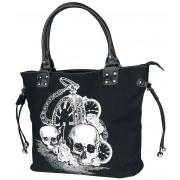 Banned Alternative Back In Black Handtasche-schwarz Onesize Damen