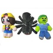 Set 1 animal si 2 figurine plus Minecraft