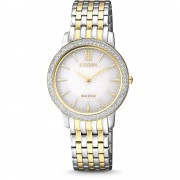 Ceas dama Citizen EX1484-81A Eco-drive Sapphire and Swarovski Crystals