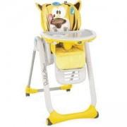 Детско столче за хранене с 4 колела Chicco Polly 2 Start, Peaceful Jungle, 2522114