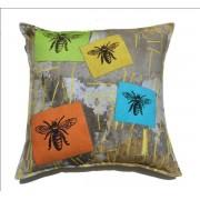 ECO Collection Kussen Vier Bijen 45x45cm